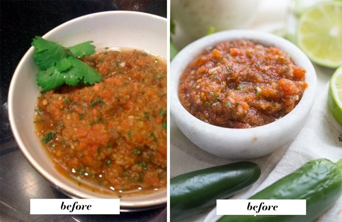 Instantly Improve Your Food Photography / Food Photography Before and After