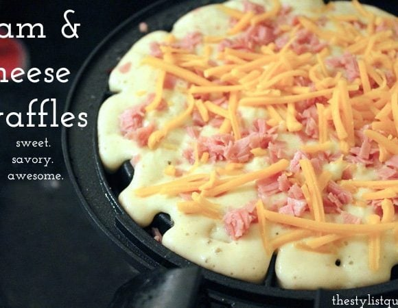 Ham and Cheese Waffles: Savory, Sweet, Perfect.