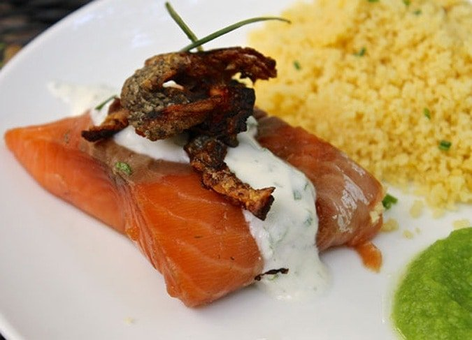 Sous vide smoked salmon (with hack) // The Stylist Quo