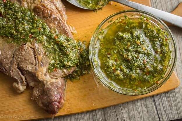 The Best Chimichurri Recipe Ever (Texas de Brazil's Recipe)