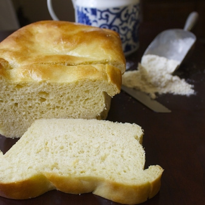 Amish White Bread Loaves and Rolls