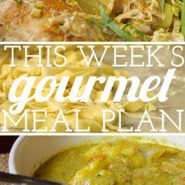 Budget Gourmet Meal Plan #5