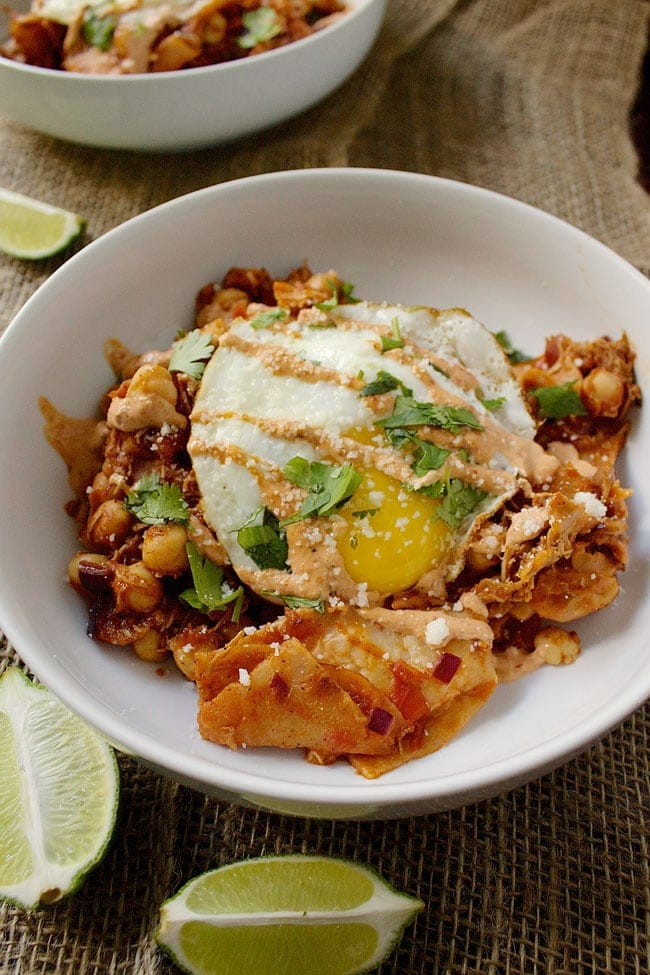 Chilaquiles // The Stylist Quo