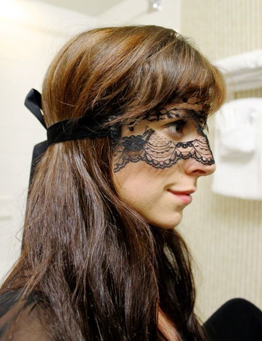 Lace Mask for DIY Catwoman Costume