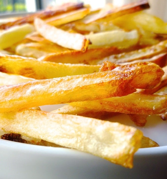 Crispy Oven Fries.