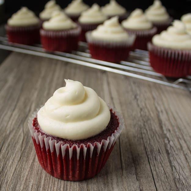 Vegan Red Velvet Cupcakes - 40 Aprons