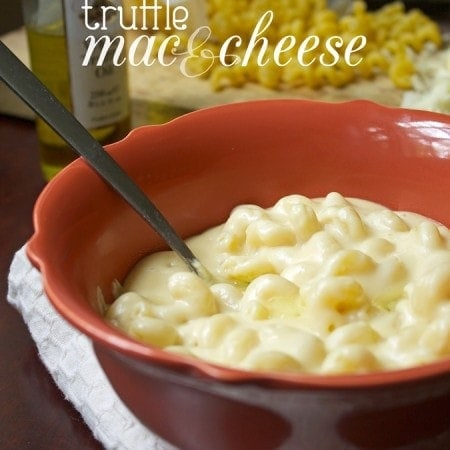 Truffle Mac and Cheese // The Stylist Quo