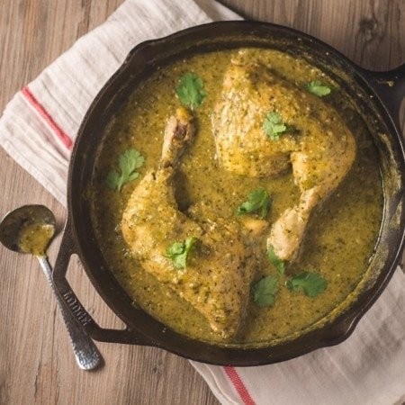 Mole Verde with Chicken // The Stylist Quo