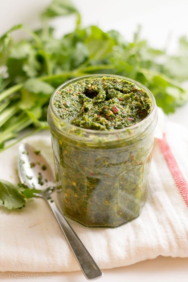 Skinny Chimichurri // The Stylist Quo