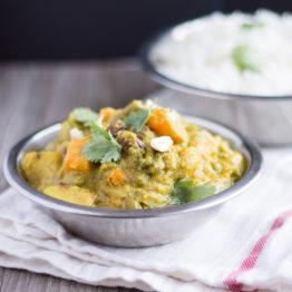 Vegetable Korma (Vegan, Gluten Free)