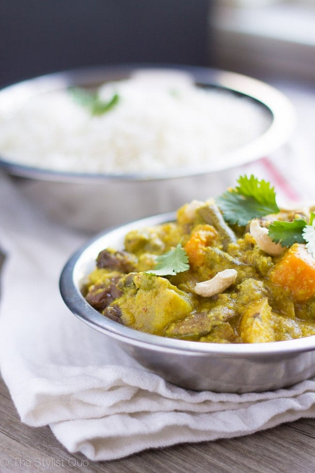 Vegetable Korma (Vegan, Gluten-Free)