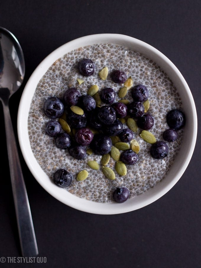 chia seed breakfast pudding 40 aprons