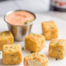 "Tofu ""Chicken"" Nuggets // The Laidback Vegan"