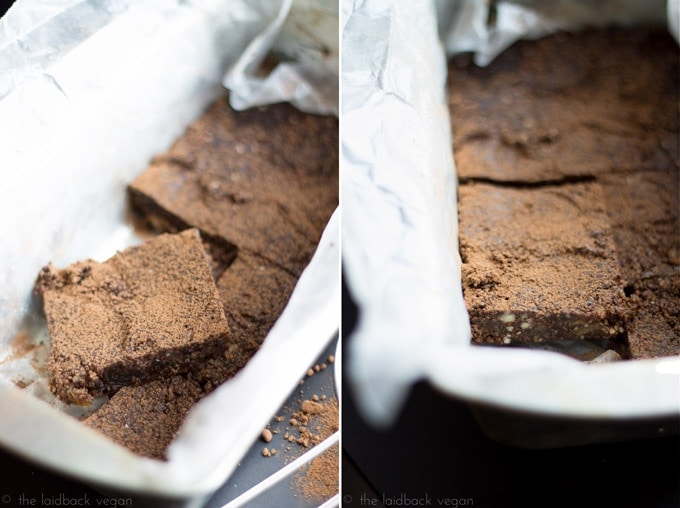 Raw Brownie (Vegan, Gluten Free) // The Laidback Vegan