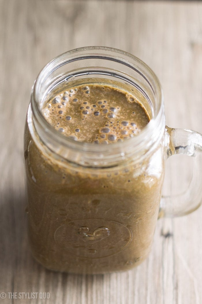 Brownie Batter Green Smoothie