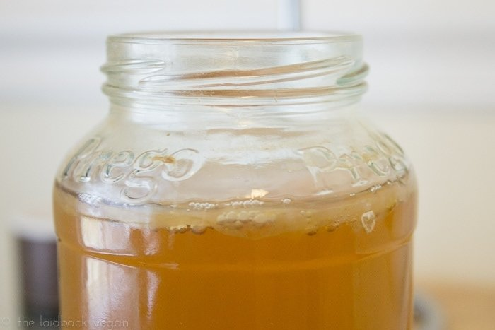 How to Grow Your Own SCOBY for Kombucha // @ the Laidback Vegan