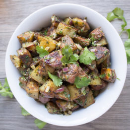 Roasted Herbed Potato Salad (Paleo, Whole30, Vegan)