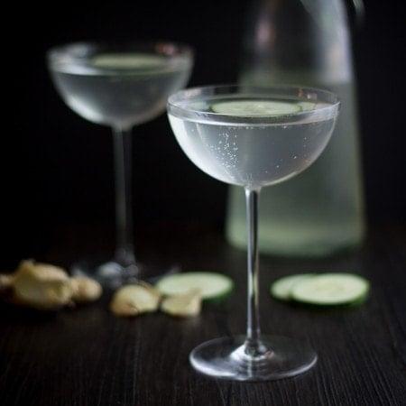 Cucumber Ginger Mocktail