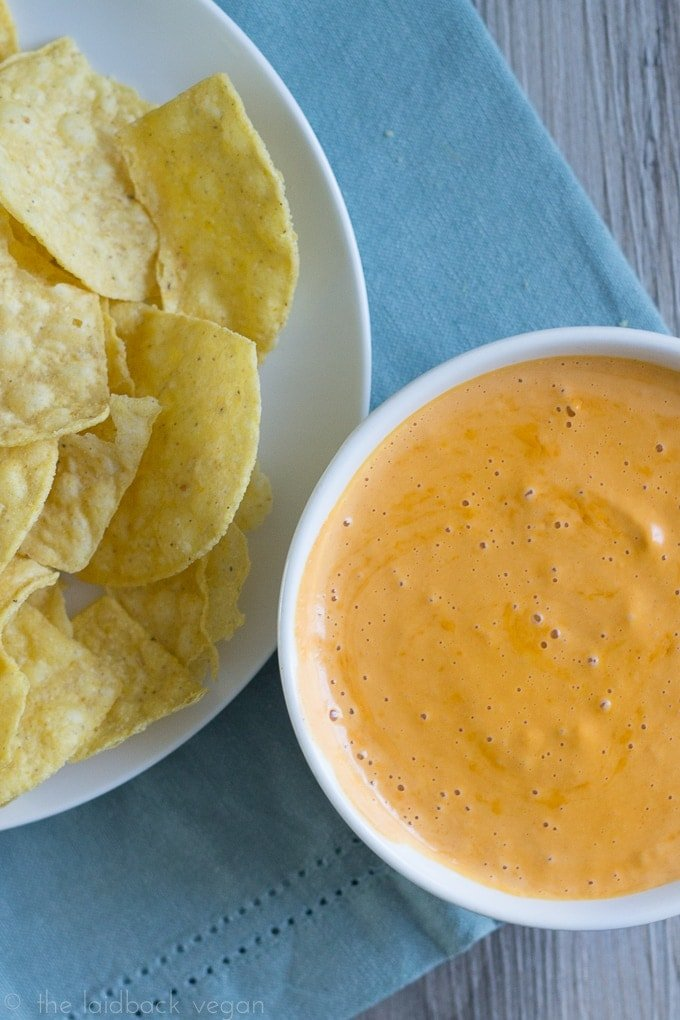 Vegan Nacho Cheese Sauce. An amazing way for vegans to get B vitamins, it'll fool even the most skeptical! So versatile, too.