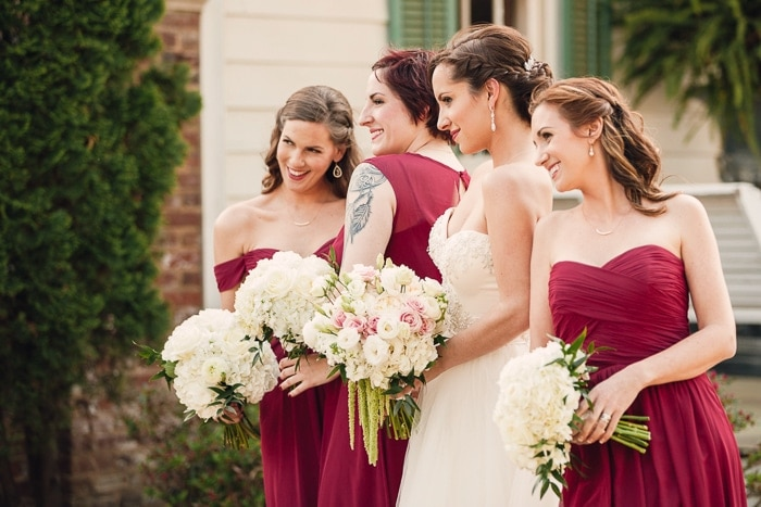 Gorgeous bridesmaids, huh?!