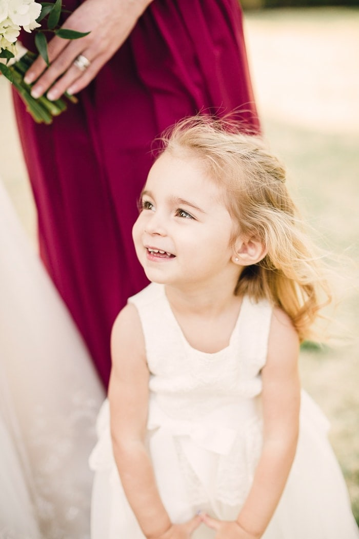 Do I NOT have the cutest flower girl?!