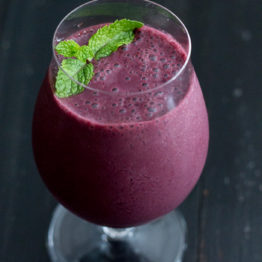 Berry Mojito Smoothie