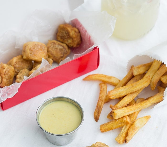 """Chickfila Tofu Nuggets. Vegan and judgment-free, these little bites taste so close to the """"real thing""""!"""