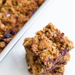 PB&J Bars (GF, Vegan)