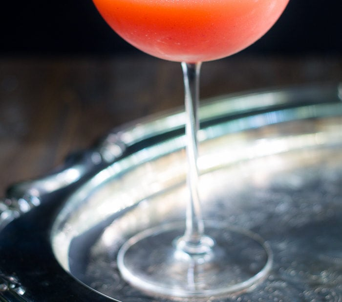 Redhead cinner. This strawberry and whiskey cocktail is fruit and warm, bright and cozy.. and is about to become your new year-round favorite cocktail!
