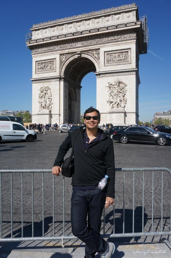 And I took lots of photos of my new hubby at all the stops on our Photographic Tour de Tourisme