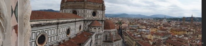 I figured out how to take a pano on our new travel camera