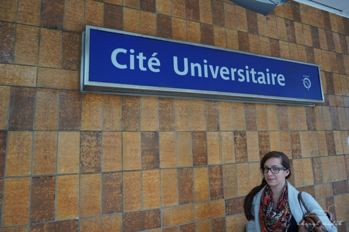 Then we had to bust over to the Cité Universitaire neighborhood, where many of the international students lived. Like a one Mrs. Aprons, when she was but a wee lass! And by wee lass, I mean.. a 21-year-old studying recklessly in the City of Light