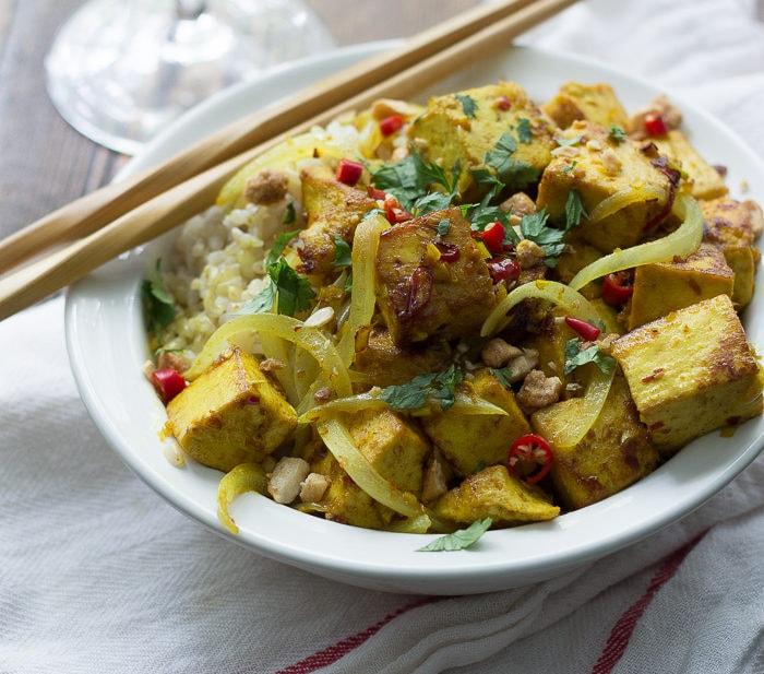 Lemongrass Tofu