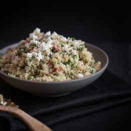 Lazy Girl Couscous Tabbouleh