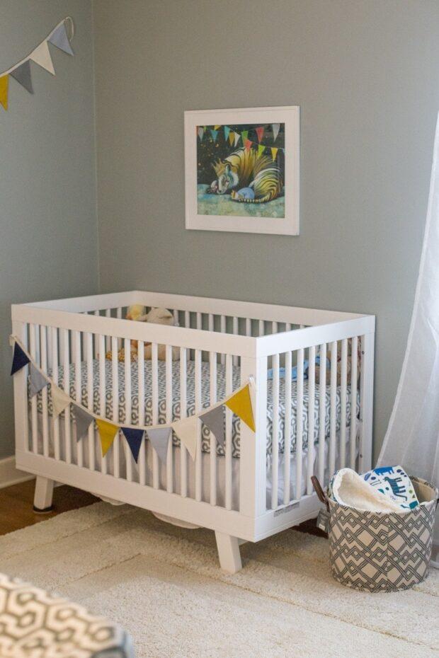 Our Cozy, Dreamy Baby Boy's Nursery