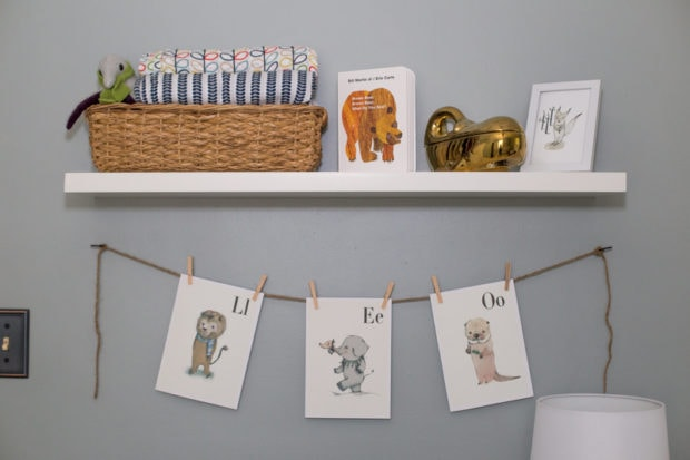 Our Cozy, Dreamy Baby Boy's Nursery