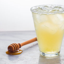 Healthy Honey Margaritas