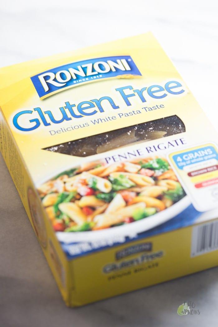 Fried Zucchini Basil Gluten-Free Pasta with Fresh Mozzarella