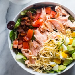 Smoked Salmon Cobb Salad