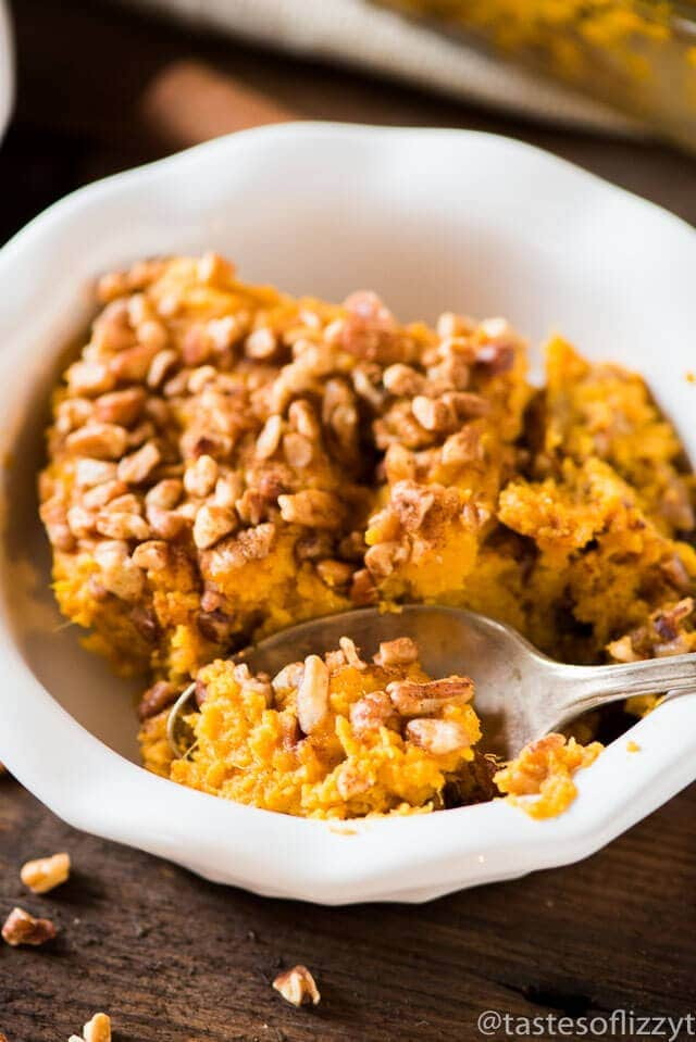Paleo sweet potato casserole for Whole30 Thanksgiving or Paleo Thanksgiving