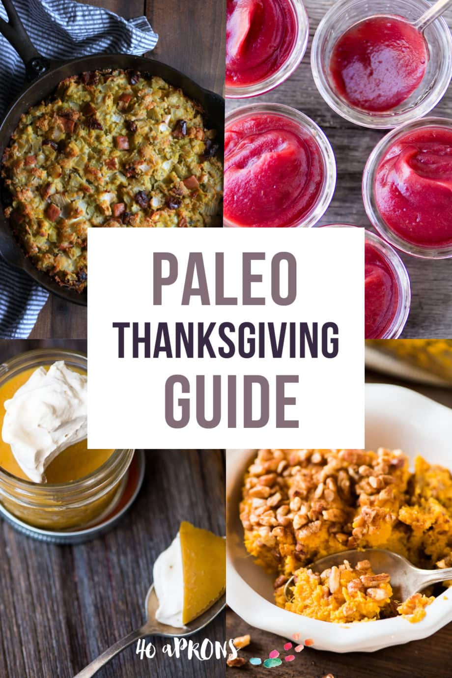 Whole30 Thanksgiving Guide - Whole30 versions of every classic Thanksgiving dish so you can indulge in a healthy way!