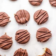 Vegan Thin Mints made with RITZ Crackers are the perfect dairy-free dessert or vegan Christmas cookie. So easy, quick, and delicious!