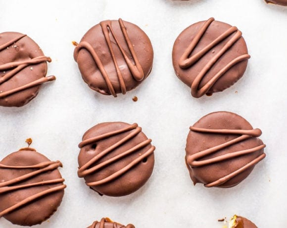 Vegan Thin Mints Made with RITZ Crackers