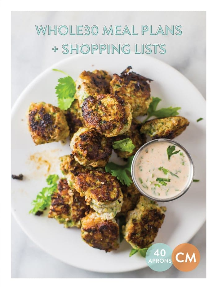 Whole30 Meal Plans and Shopping List - Whole30 Prep and Week 1