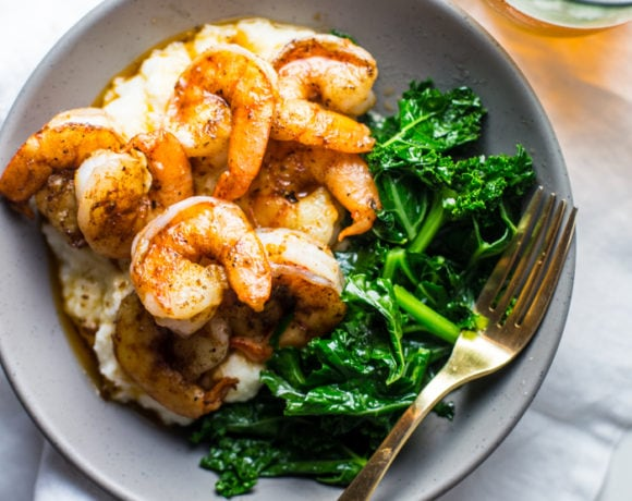 Paleo Shrimp and Grits Recipe (Whole30)