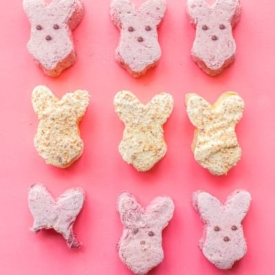 Paleo Peeps (Paleo Marshmallows): Raspberry + Toasted Coconut Lemon