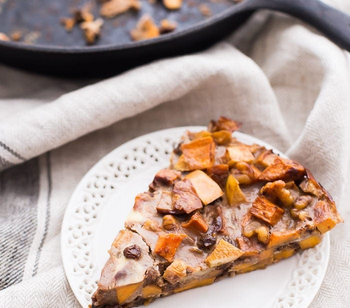 Whole30 Sweet Potato Apple Breakfast Bake (Paleo)