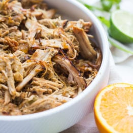 Paleo Carnitas with Pork Tenderloin (Whole30, Crockpot)