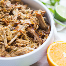 Paleo Carnitas with Pork Loin (Whole30, Crockpot)