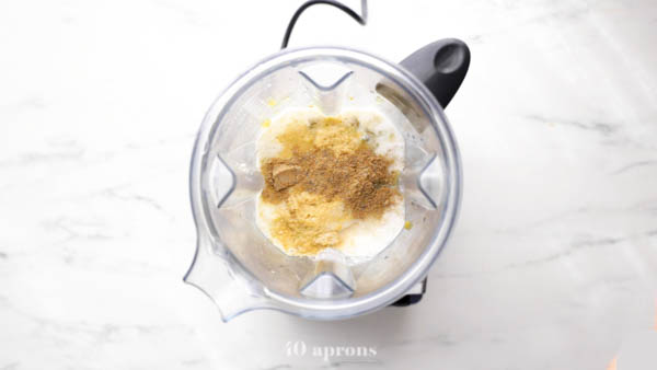 Combine all ingredients in a blender